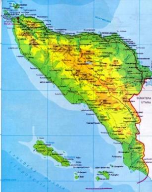 Peta wilayah Propinsi NAD